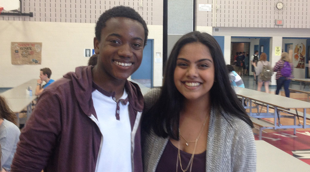 Paul Smith and Jessica Dassanayake will represents students as co-prime ministers during the 2015-2016 school year.