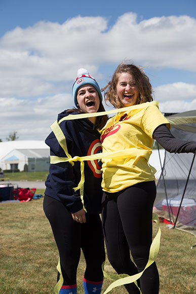 Sacred Heart students raised nearly $17,000 for the Canadian Cancer Society at this year's Relay for Life.