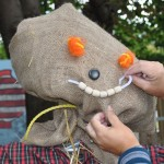 Making scarecrows at the Goulbourn Museum September 13
