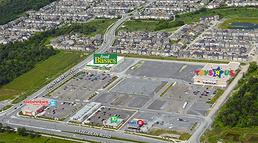 Shoppes at Fairwinds - Aerial