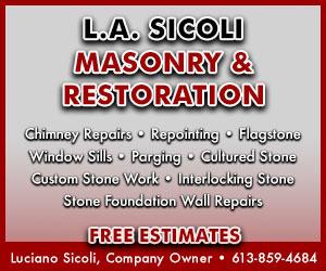 L.A. SICOLI MASONRY & RESTORATION