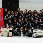 Minor Peewee AA Silver Seven team goes undefeated in league play and playoffs