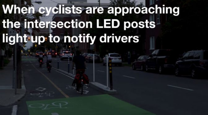 Stittsville company's invention deployed in downtown bike safety pilot