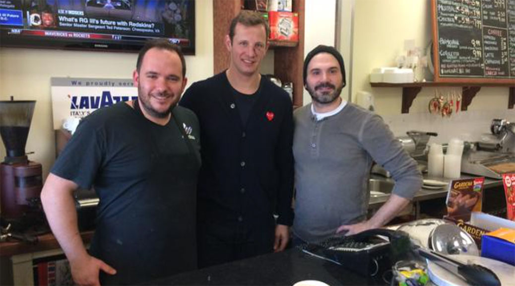 Jason Spezza at Pesto's
