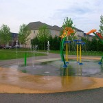 City splash pads are now open