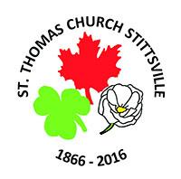 St. Thomas 150th Anniversary logo