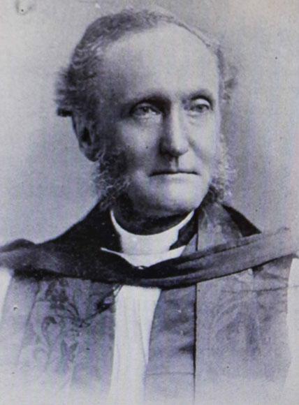 The first bishop at St. Thomas, Bishop John Lewis Travers.