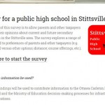 Over 1,200 people fill out public high school survey so far