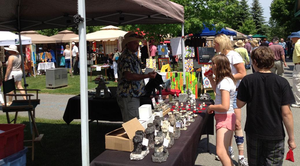Stittsville Arts in the Park (photo via Stittsville Village Association)