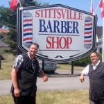 New barbershop blends old style with new features