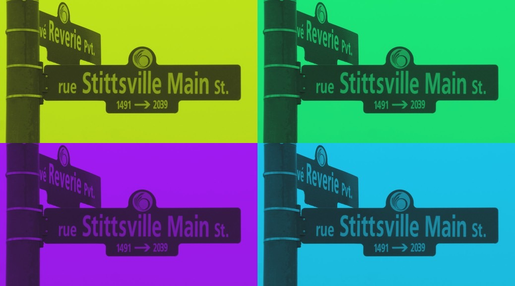 Re-inventing Stittsville Main