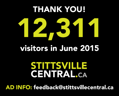 12,311 visitors in June 2015 to StittsvilleCentral.ca