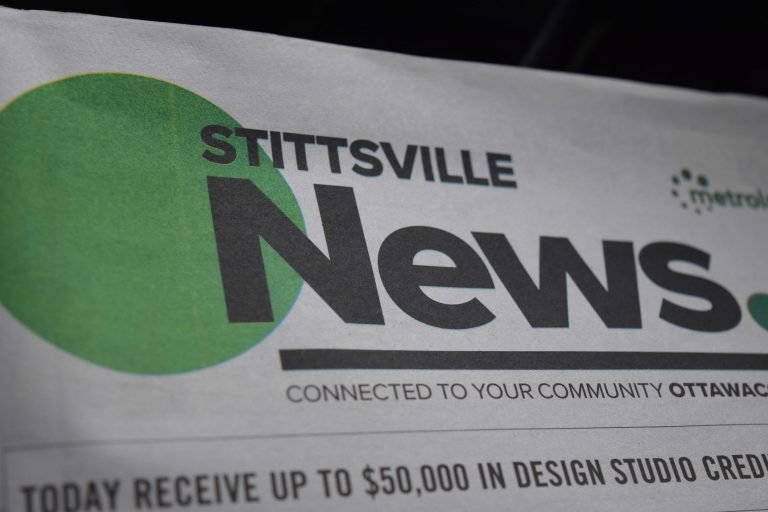 The Stittsville News is one of eight local community papers that will be closed after a swap between Postmedia and Torstar. (File)