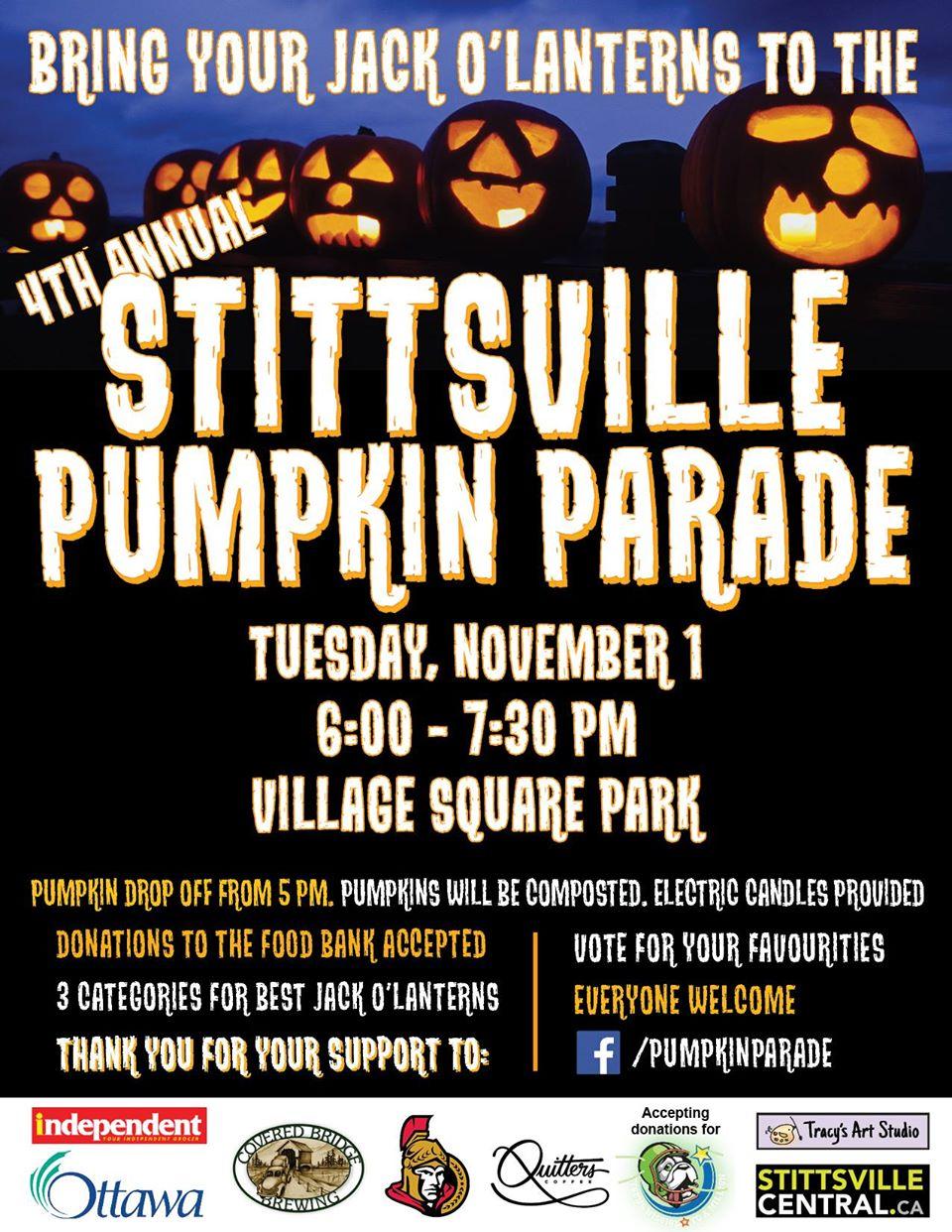 Stittsville Pumpkin Parade 2016