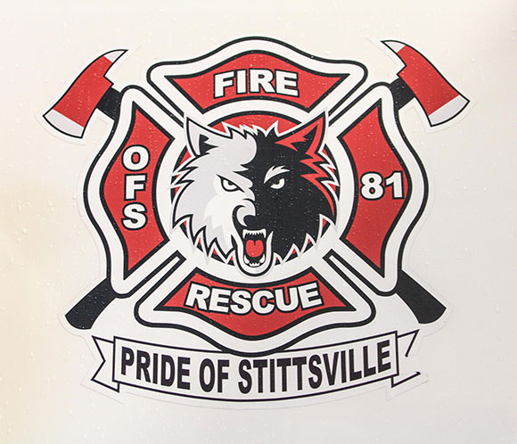 Stittsville Volunteer Firefighter crest