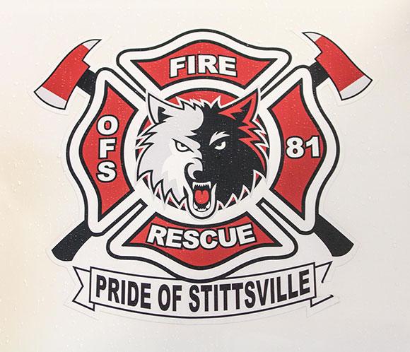 Stittsville Volunteer Firefighter crest