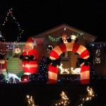 STITTSVILLE CHRISTMAS LIGHTS #2: Sunnyside near Fernbank