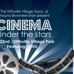 Cinema Under the Stars at Village Square Park (July 22)