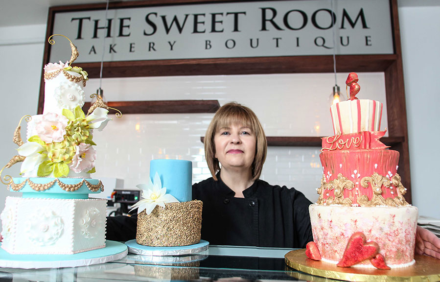 Renee Saunders, owner of The Sweet Room Bakery Boutique on Stittsville Main Street. Photo by Barry Gray.