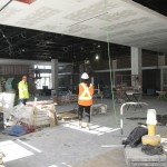 Work in progress: Photos of the Tanger Outlets dining hall
