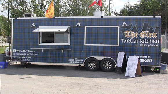 The Tartan Kitchen food truck. Photo by Jordan Mady.