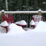 VIDEO: Time lapse of Tuesday's record-setting snowfall