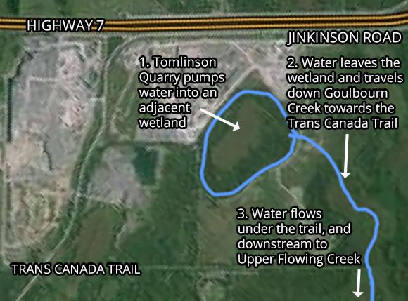 Tomlinson Quarry satellite map