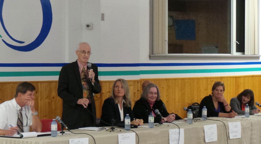 October 9 debate - public and catholic board candidates