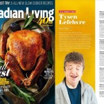 Tysen Lefebvre to be featured in Canadian Living magazine