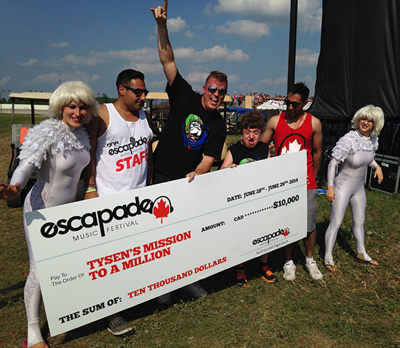 Tysen's Mission to a Million: Escapade Music Festival