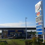 PHOTO: Gas station on Palladium changes from Ultramar to Esso