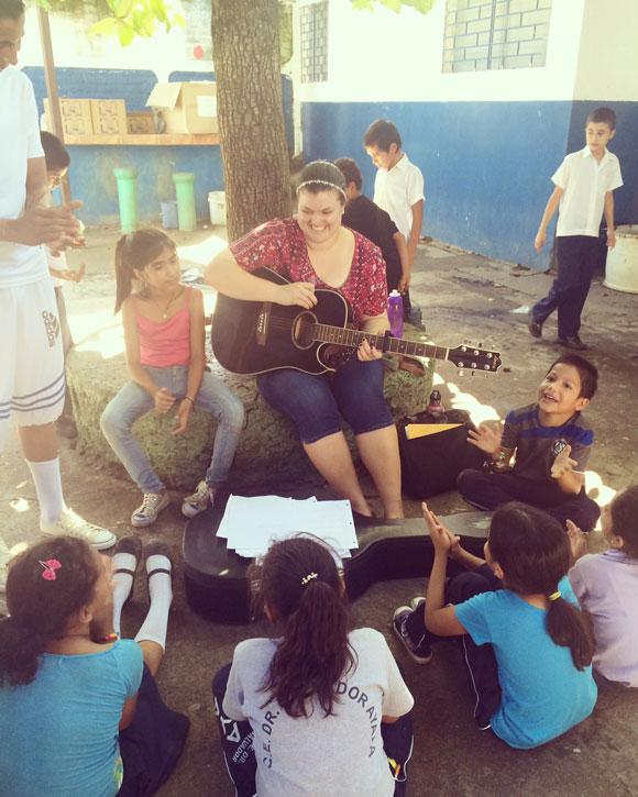 Vanessa Banks is a missionary in El Salvador