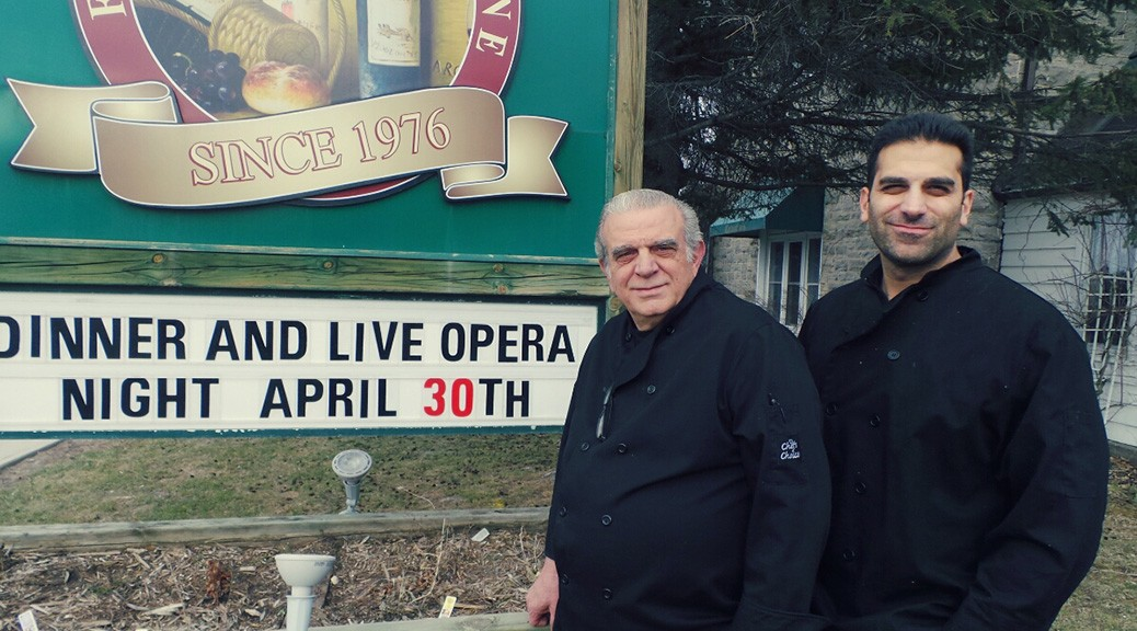 Cabotto's owner Vince Pucci along with son Perry. Photo by Glen Gower.