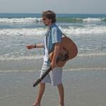 Singer-songwriter Vincent Bishop at Gaia Java August 28