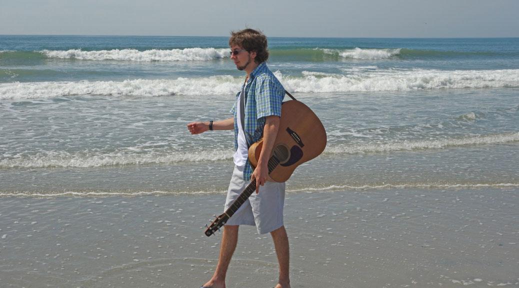 Singer-songwriter Vincent Bishop