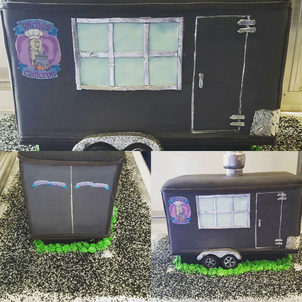 Wiches Cauldron owners Craig Beaudry and Monique Haugen received quite a amazing surprise from some of the regular customers from the Sweet Room Bakery Boutique