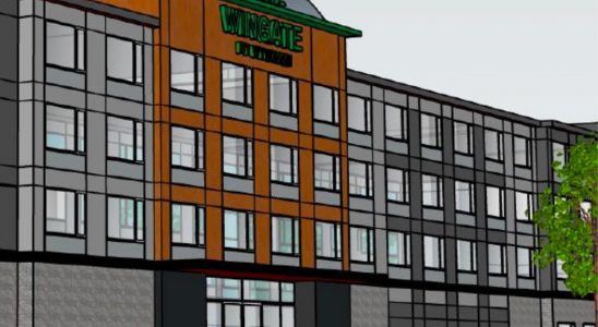 Proposed Wingate hotel in Kanata North