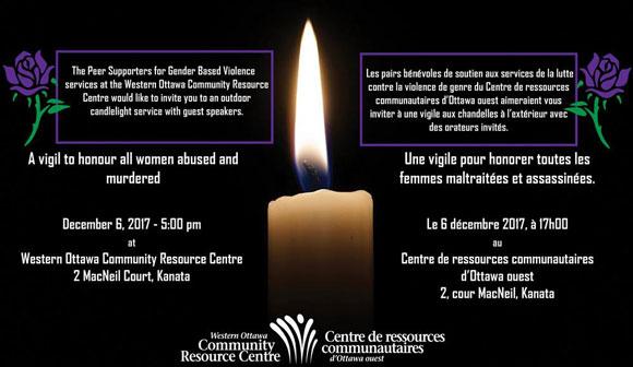 WOCRC vigil December 2017