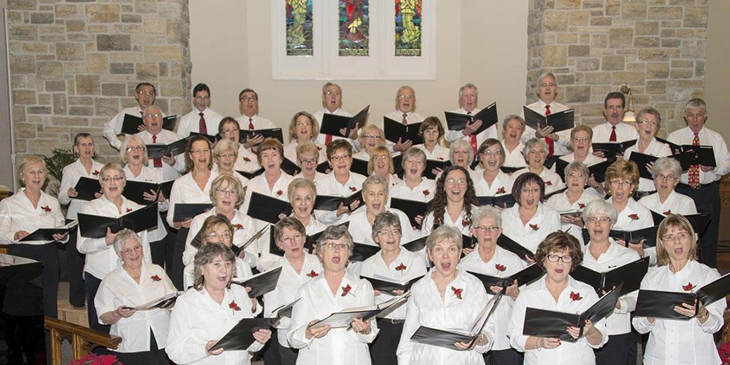 West Ottawa Ladies Chorus, December 2015