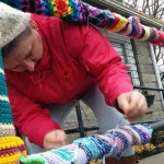 CLOSE KNIT COMMUNITY: Yarn Bombing Project at Goulbourn Museum