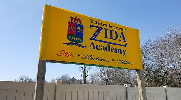 Zida Academy at 1 Goulbourn Street in Stittsville.